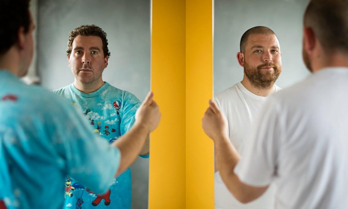 the 2 Bears (Joe Goddard, left, and Raf Rundell