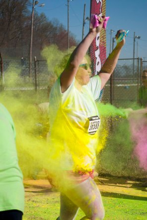 The Color Vibe 5k Akron Photography