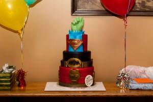 akron birthday party event cake photography