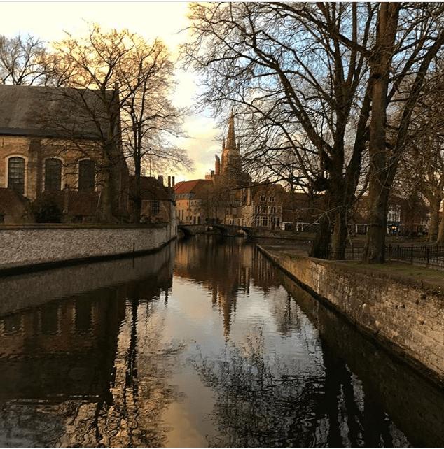 Lago do Amor, em Bruges