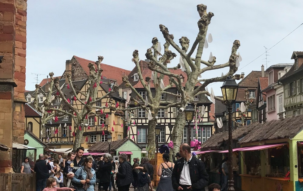 A feira da primavera em Colmar (Fête du Printemps)
