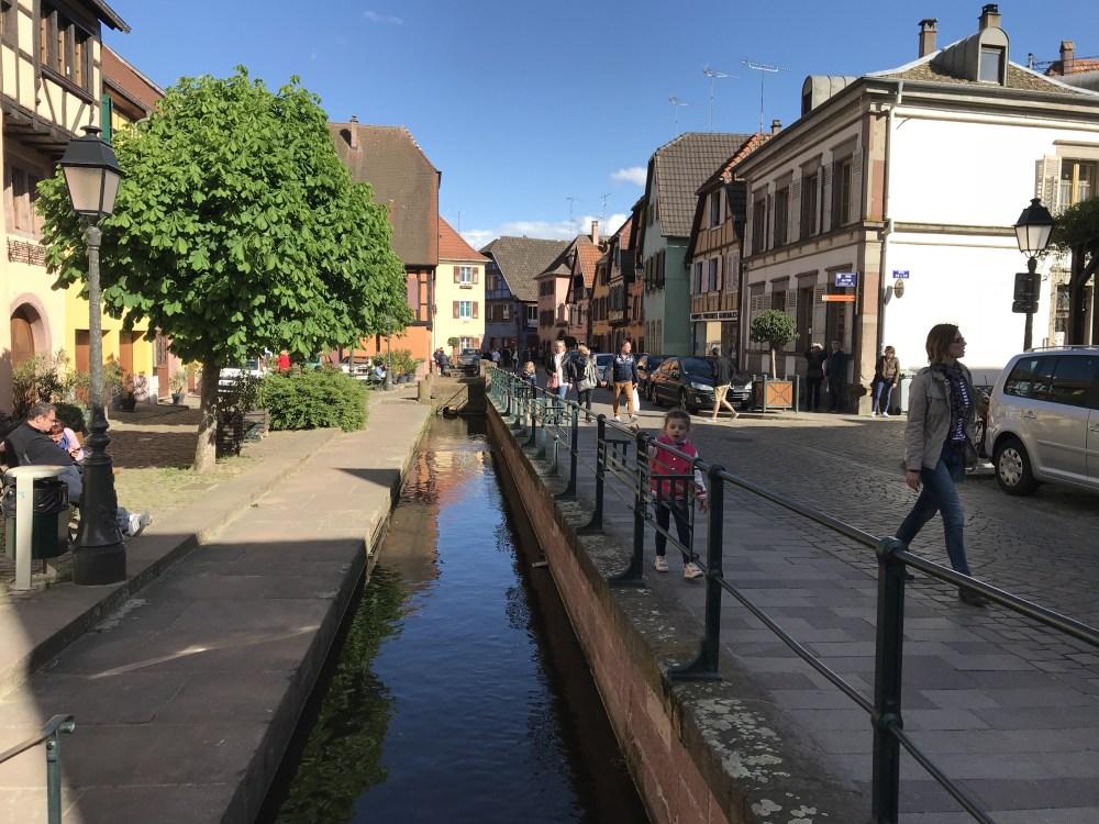 As ruas de Ribeauvillé