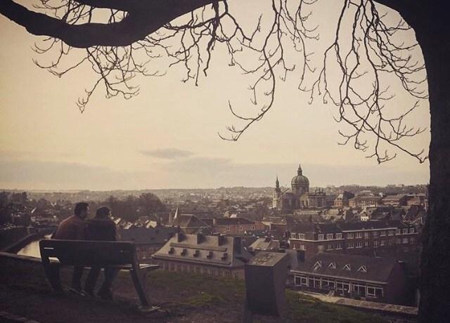 A vista da cidadela de Namour
