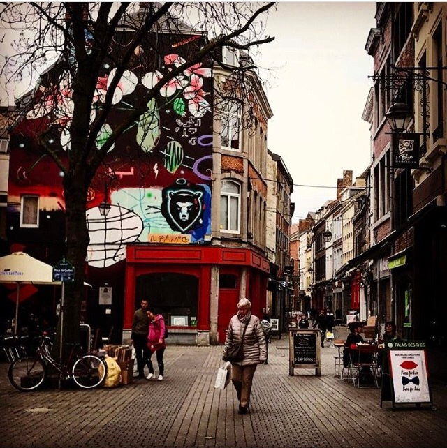 As ruas de Namur