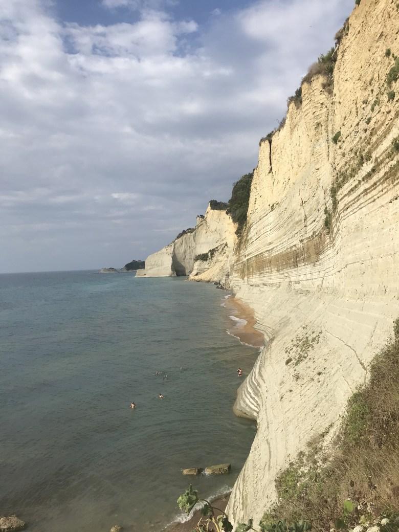 Logas beach vista de cima