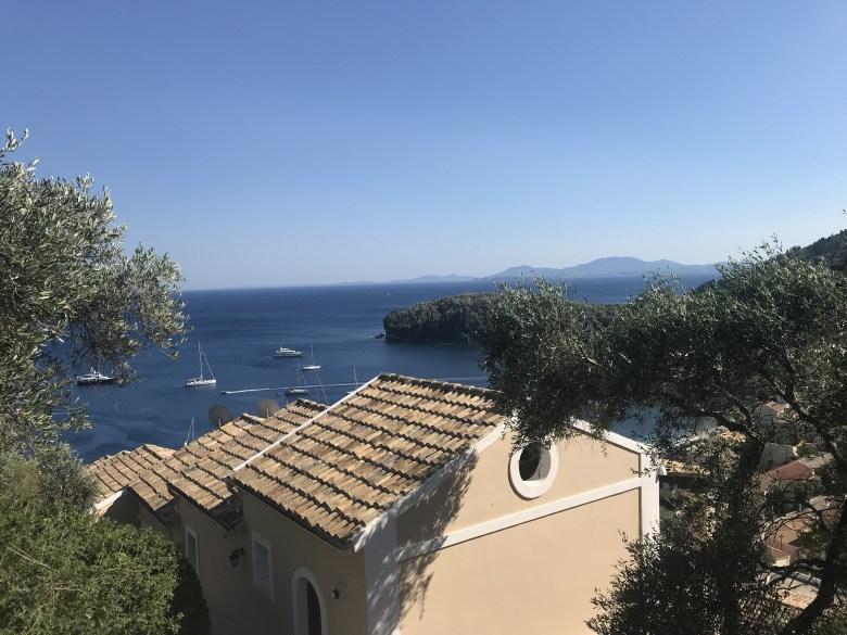 A vista do San Antonio Corfu Resort