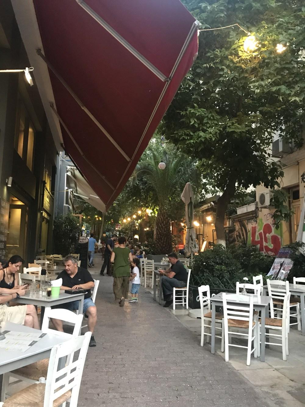 Um pouco mais dos bares e ruas