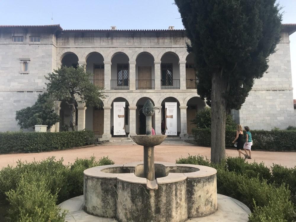 Museu Bizantino, em Atenas