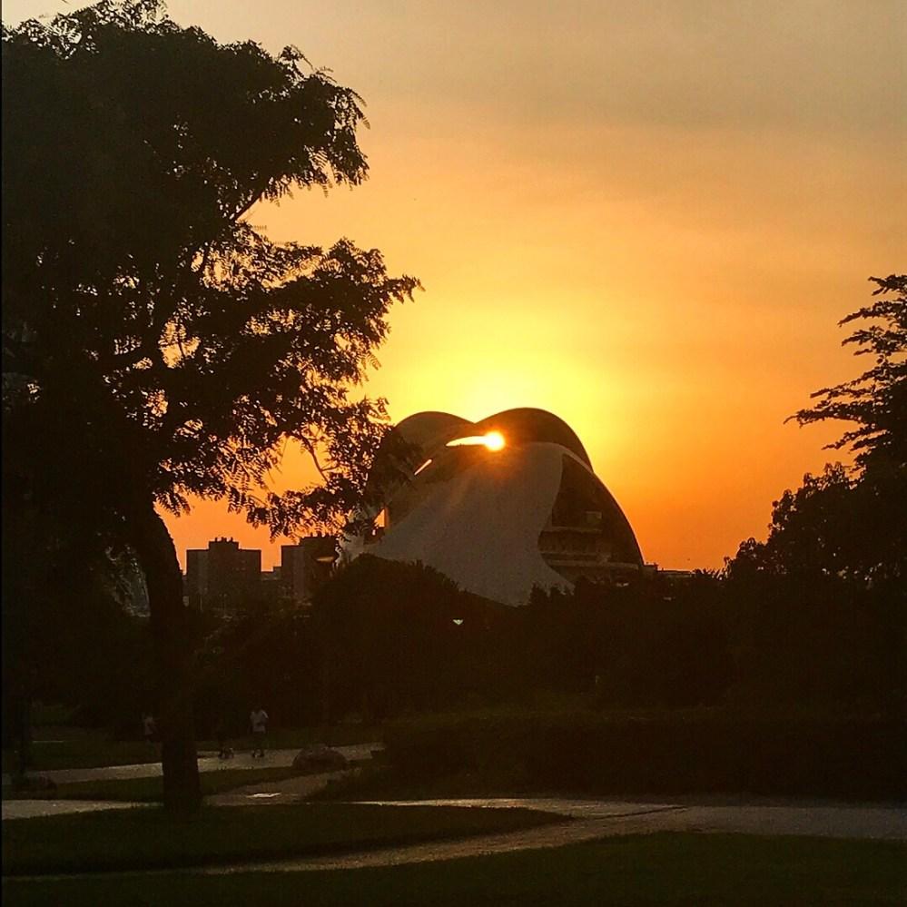 Um passeio para qualquer horário, incluindo o pôr do sol
