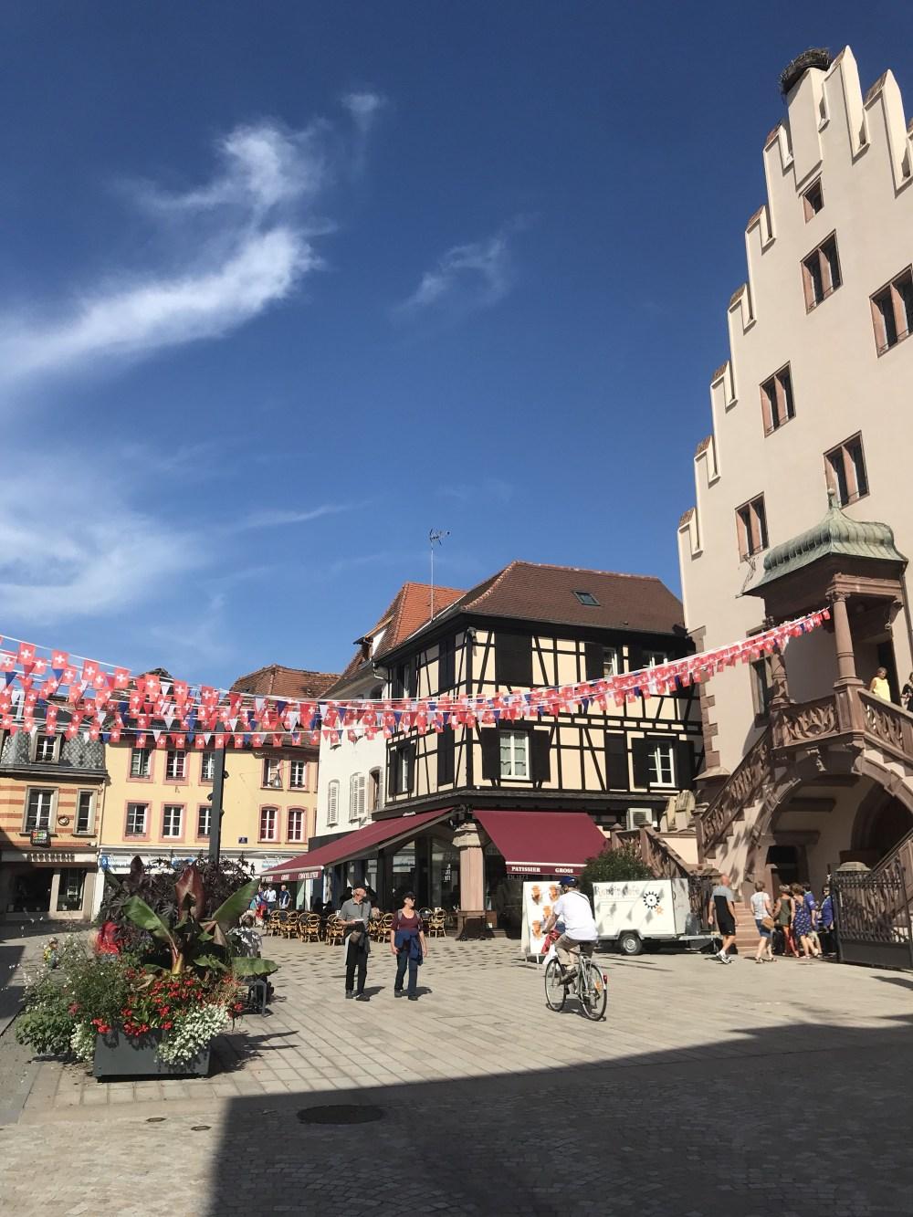 Sélestat é uma típica cidade da Alsácia