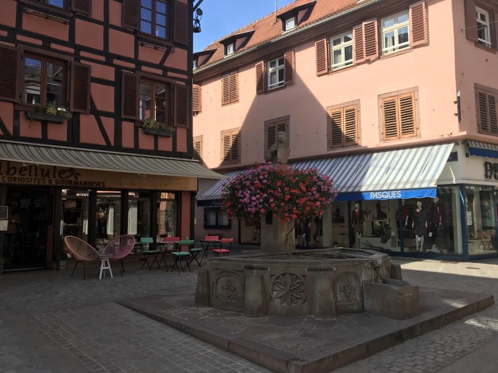 Todas as ruas de Sélestat estão super conservadas