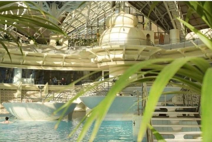 Detalhes do grande complexo do SPA Fonte: Instagram do Caldea