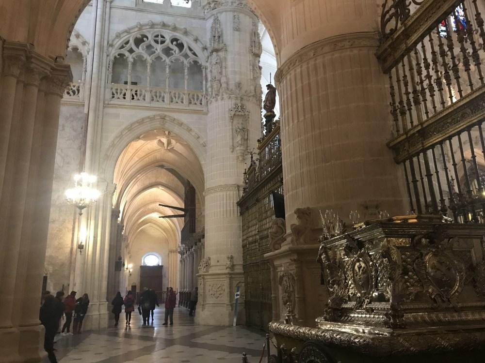 Outros detalhes da catedral de Burgos