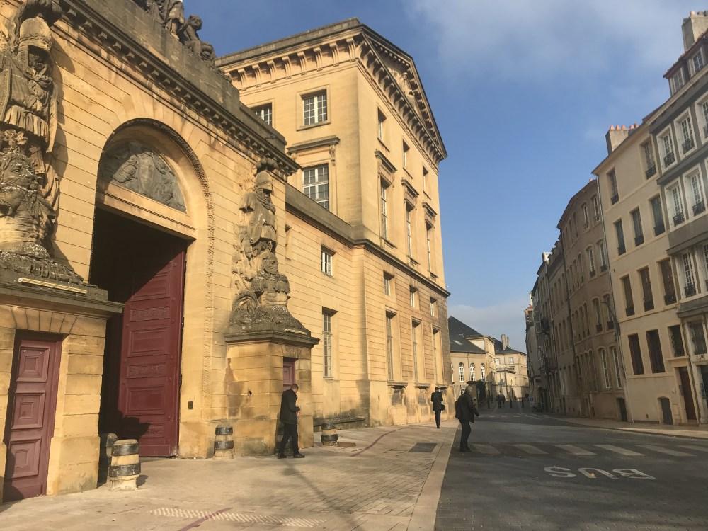 A cada rua de Metz, uma época, um estilo