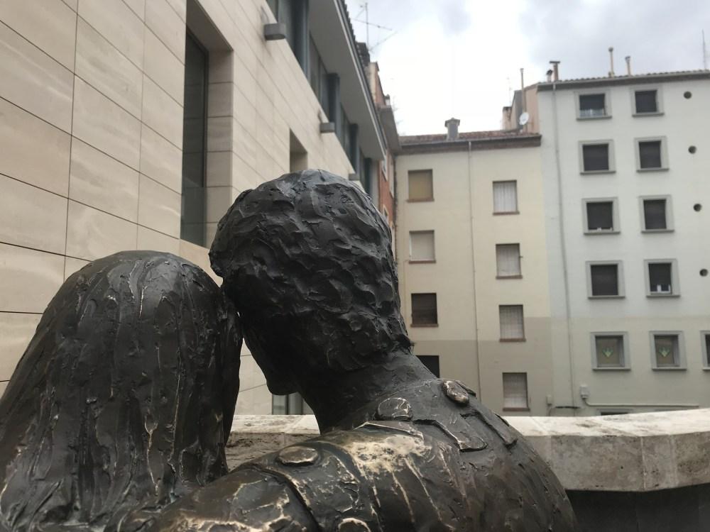 Escultura de los amantes de Teruel