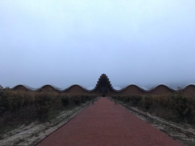 A bodega Ysios em Rioja Alavesca