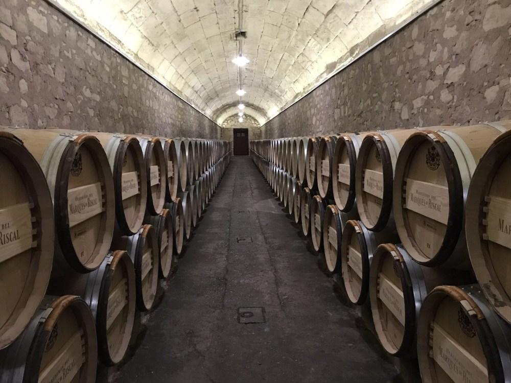 O cuidado e higiene da vinícola Marques de Riscal, em Rioja