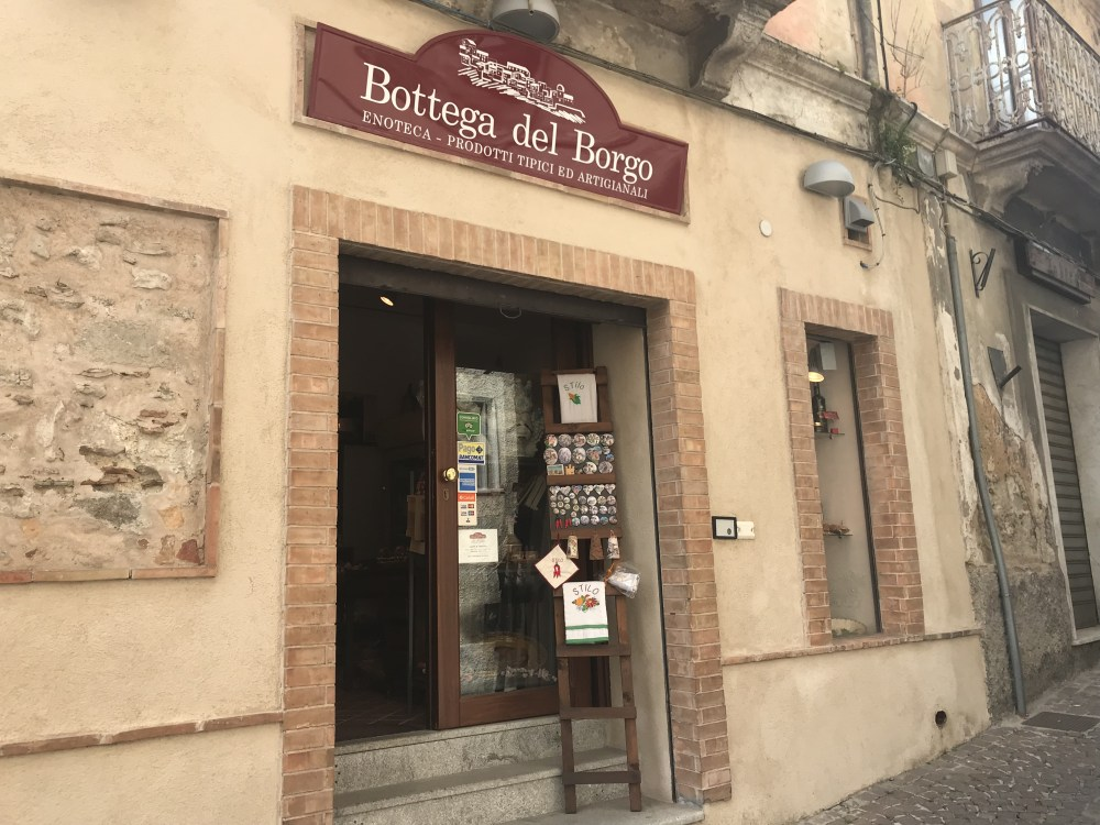 Bottega del Borgo de Stilo: melhor lugar para souvenirs