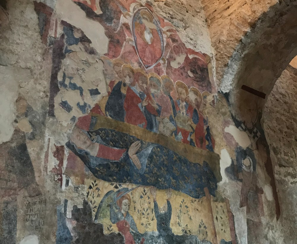 Afresco da Chiesa Cattolica de Stilo, Calábria