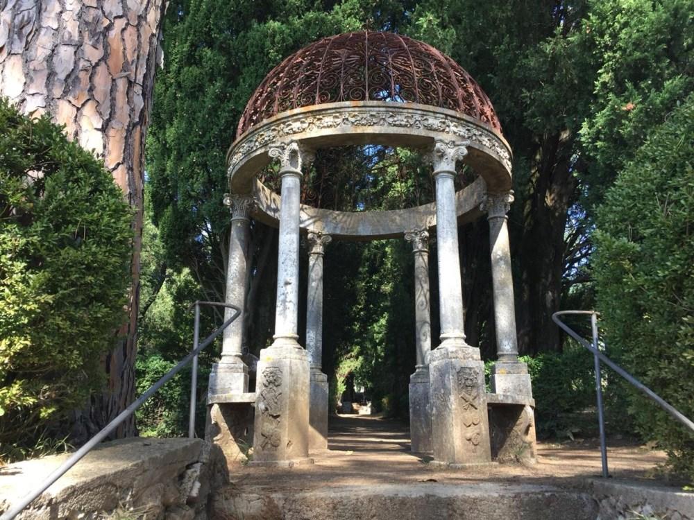 Os parques deliciosos de Ravello