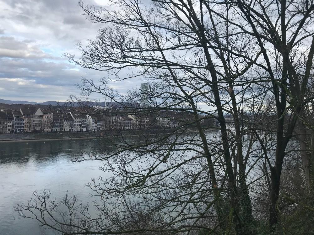 Eu me apaixonei pelas cores bucólicas de Basileia no inverno