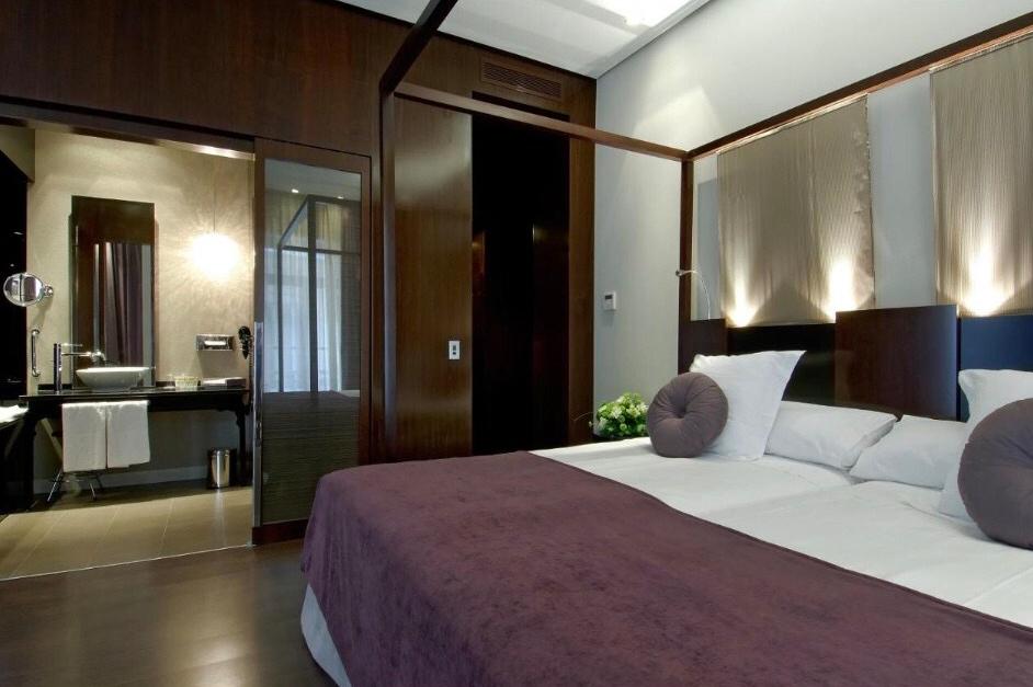 O charmoso quarto do Vincci Lys. Foto: Booking