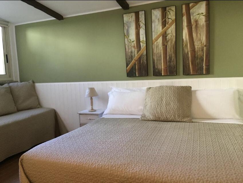 Esse é exatamente o quarto que fiquei no Possidonea 28 | Foto: Booking