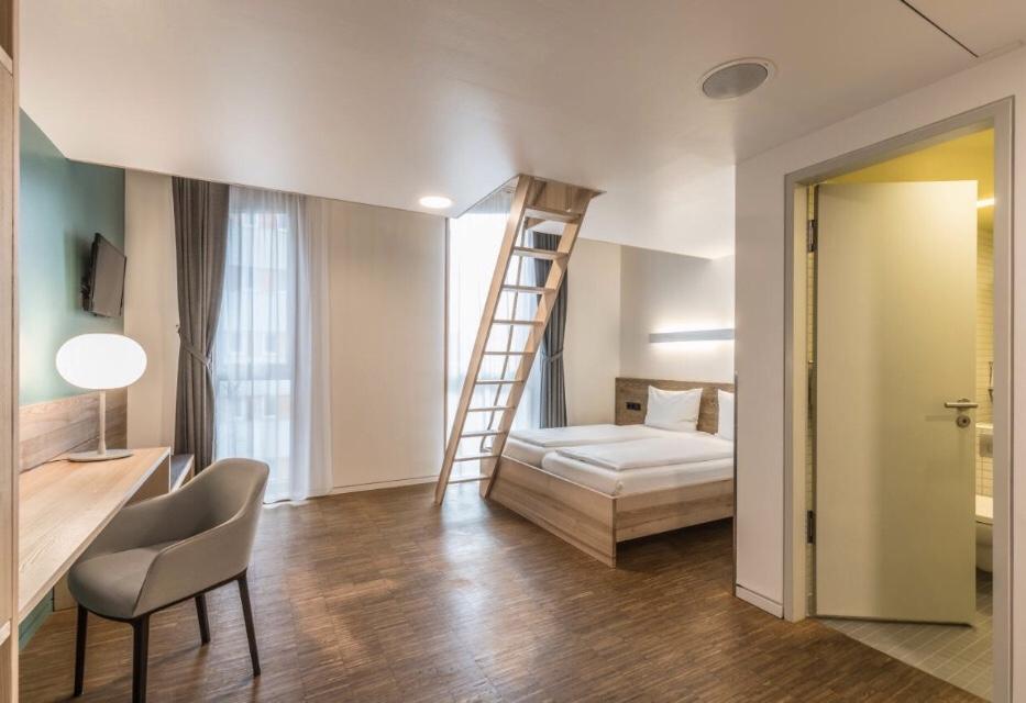 Green City Hotel Vauban   Foto: Booking