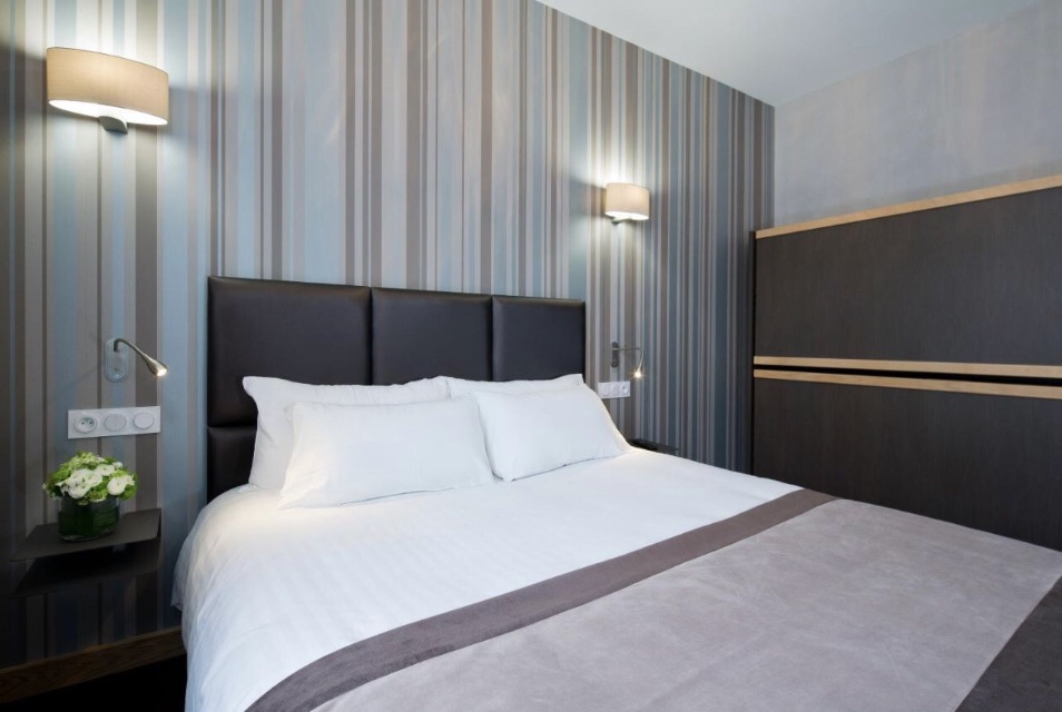 Quarto do Hôtel d'Orléans | Foto: Booking