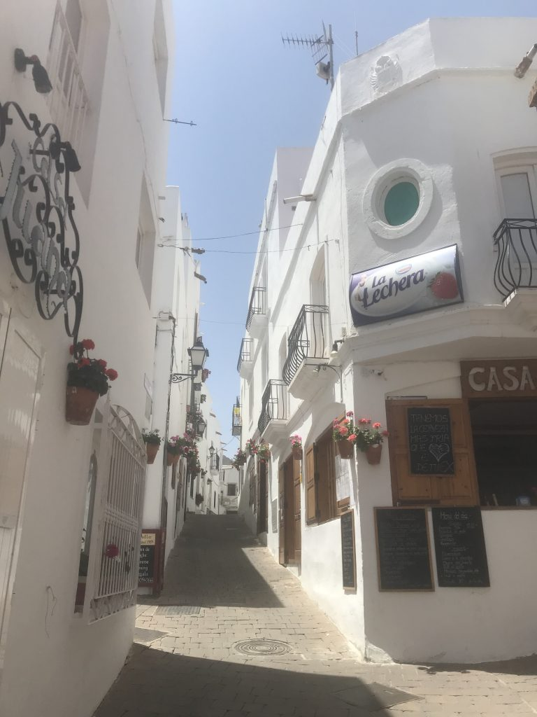 Mais das ruas que vimos em Mojácar, Espanha
