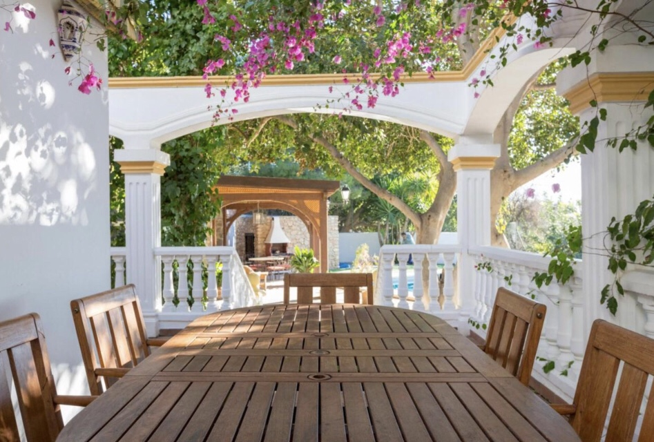 O jardim da Casa Atalaya de Nijar | Foto: Booking