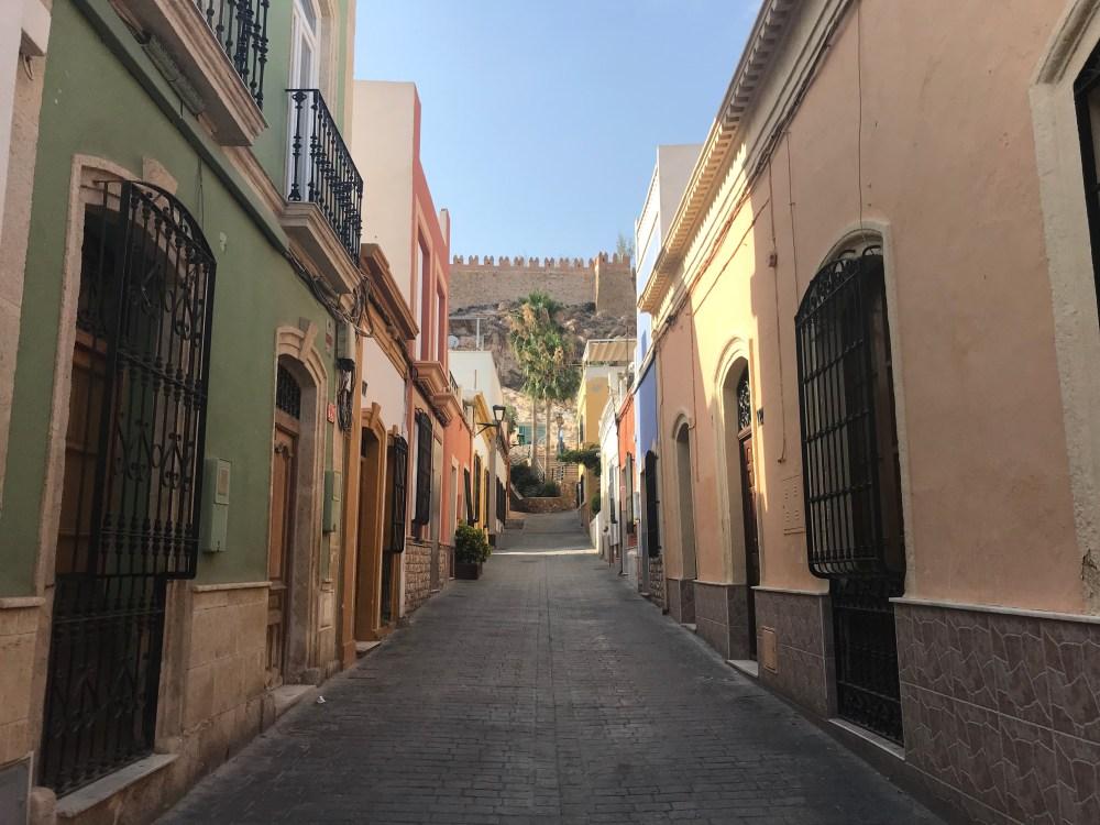 Pelas ruas do centro antigo de Almeria