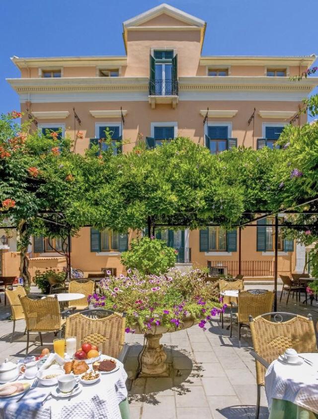 Casarão para se hospedar em Corfu: Bella Venezia. Foto: Booking H