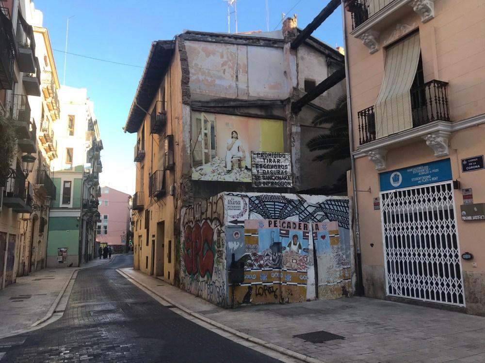 Nossa rota do Grafite em El Carmen, Valencia, começou aqui