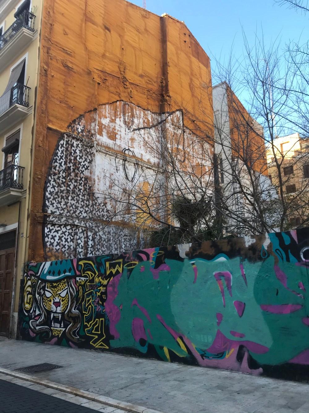 Grafites do italiano Blu em El Carmen, Valencia