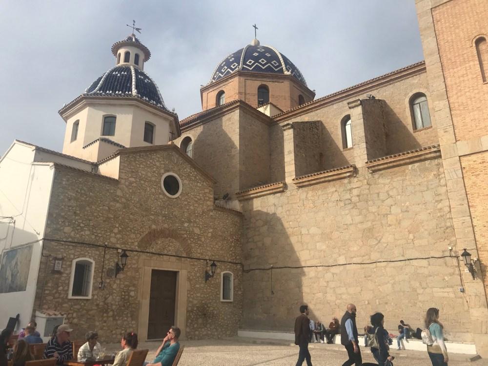 A famosa cúpula do Mediterrâneo de Altea, Valencia