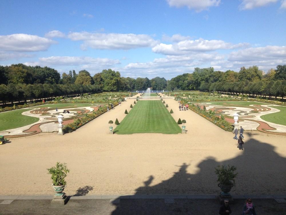 Os lindos jardins do castelo Charlottenburg de Berlim