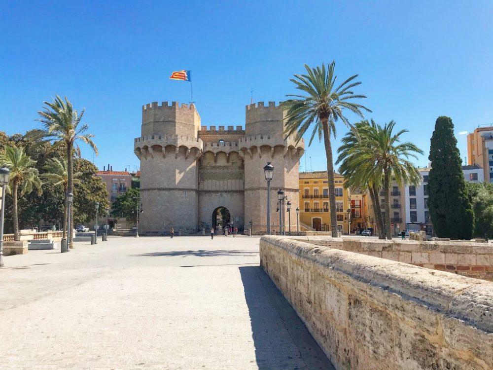 As Torres ou Portas de Serranos são um símbolo de Valencia