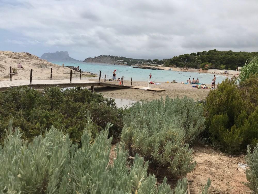 Melhores praias de Moraira, Alicante
