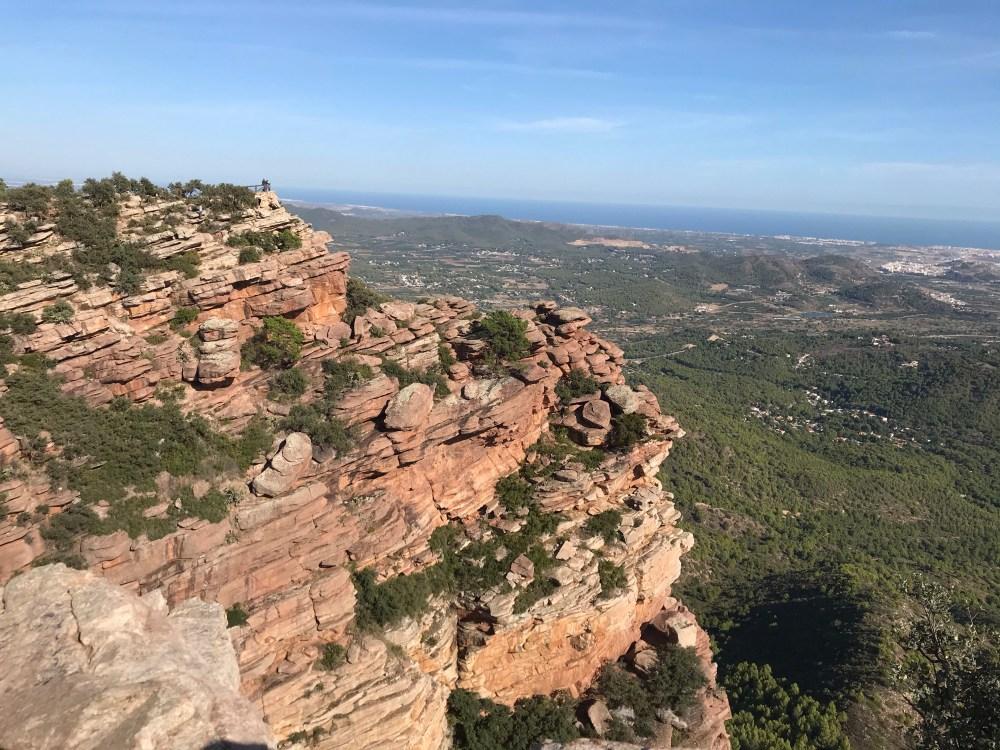 Mirador del Garbi do Parque Natural de la Serra Calderona