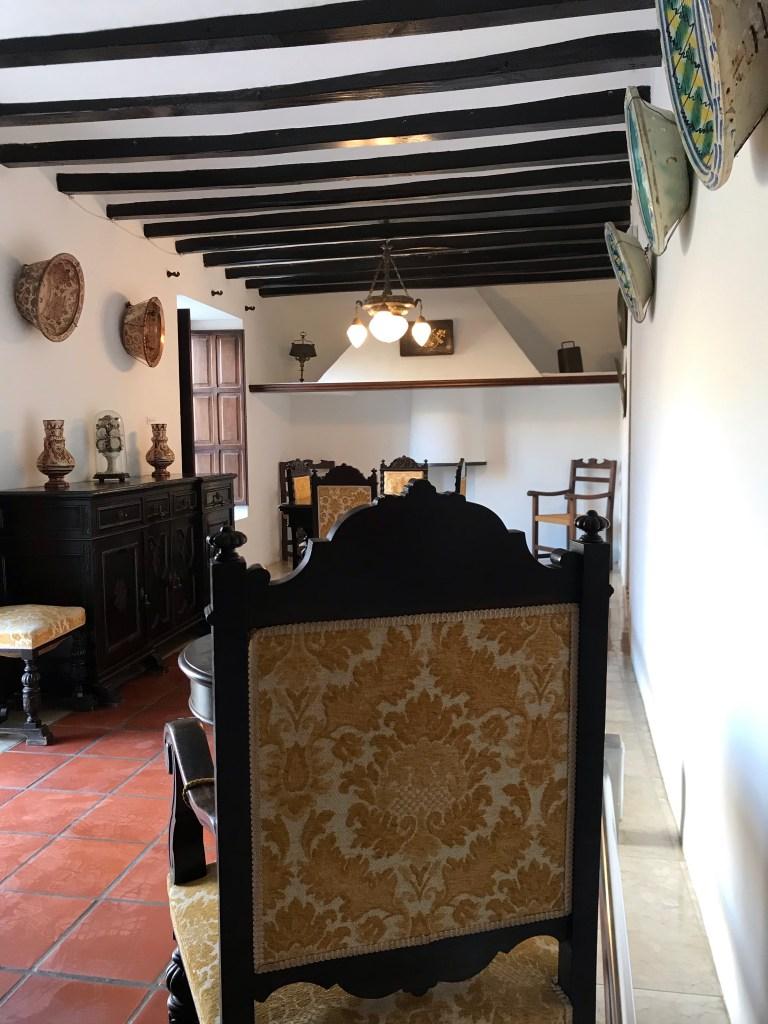 Por dentro da Casa Orduña de Guadalest