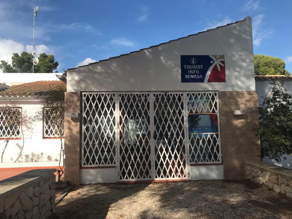 O Paseo Ecologico de Benissa começa no Tourist Info Benissa