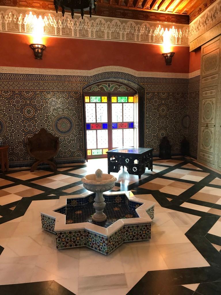 As belas salas árabes da Alhambra valenciana