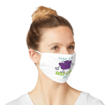 """Mask that says """"Today is my self-care day."""""""