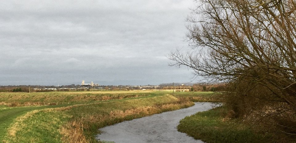 View of Ely from Trail by Barway