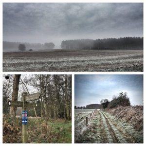 Views from Peddars Way - Dec 2014