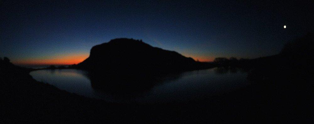 Dawn over Arthurs Seat, Edinburgh