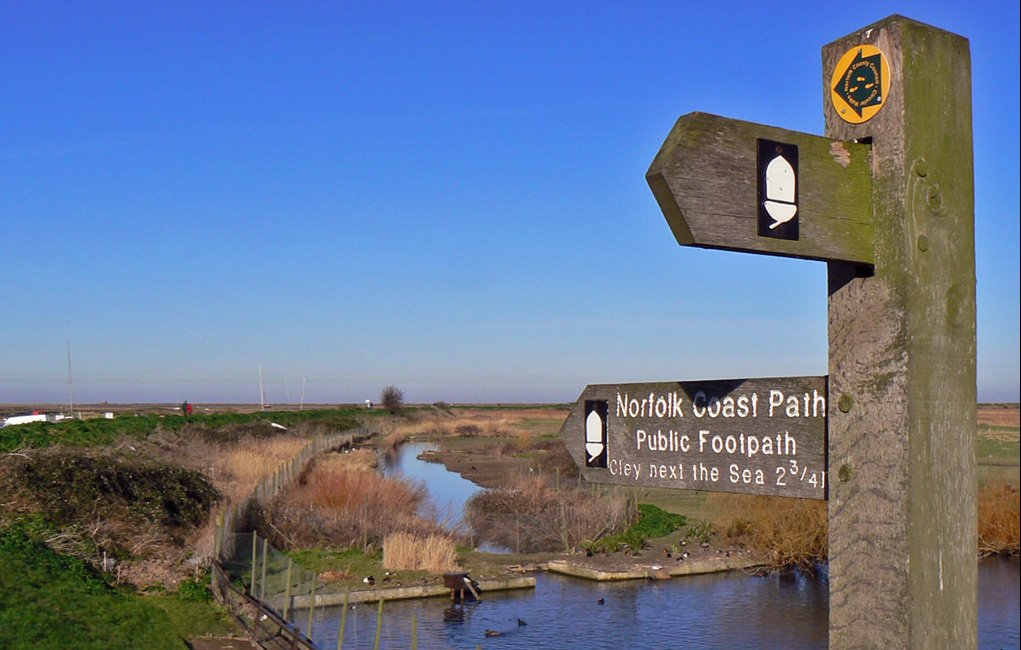 North Norfolk Coastal Path - Blackney
