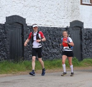 Running into Burnham Overy Staithe Checkpoint
