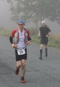 Giles on Descent to Coniston Water. Photo courtesy of Paul Wilson